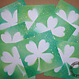 4 leaf clover cards