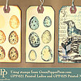Speckled Egg tags