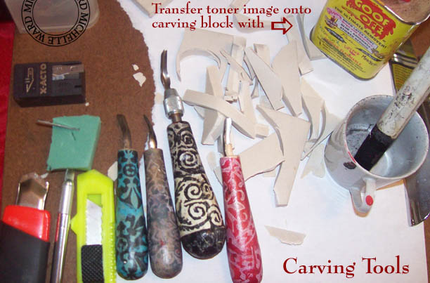 Mw tut carving a stamp e