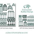 Coordinating rubber stamps