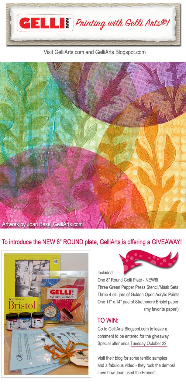MW GelliArts Giveaway
