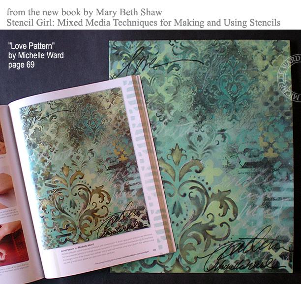 MW StencilGirl book
