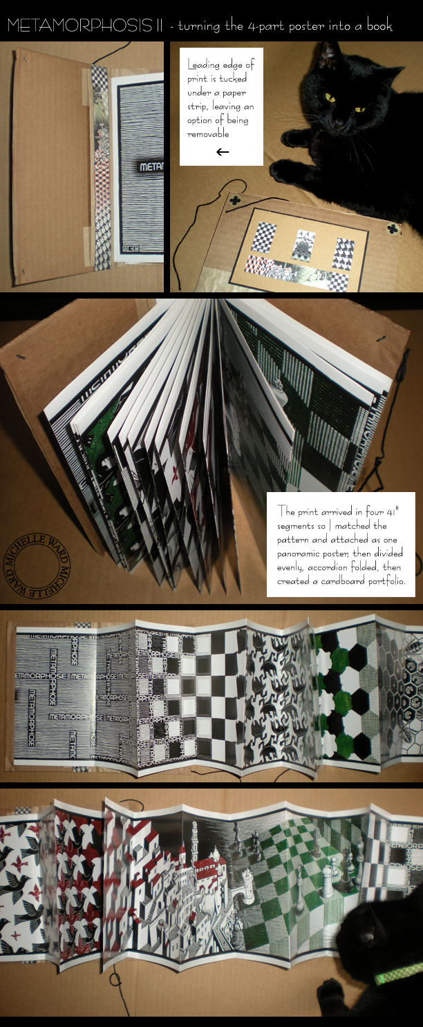 MW MC Escher poster book