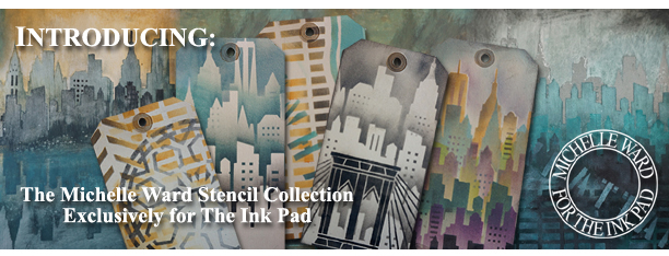 Michelle Ward The Ink Pad new stencils banner