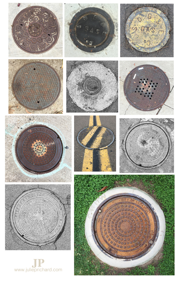 Julie Prichard 619 manhole medley2