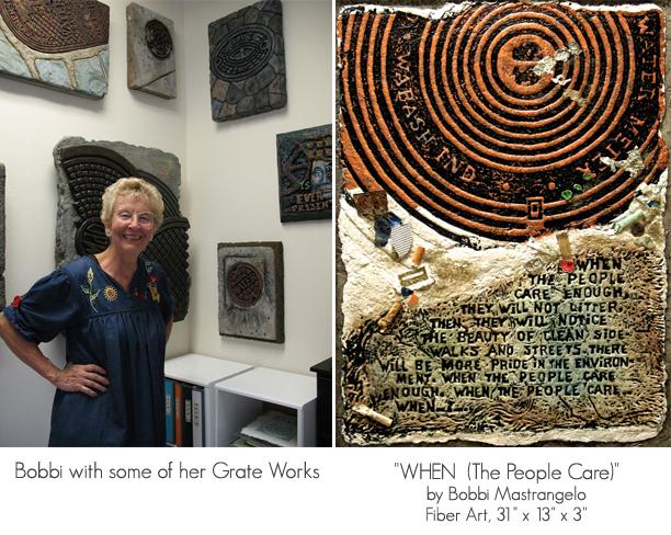 Bobbi Mastrangelo with Grate Works