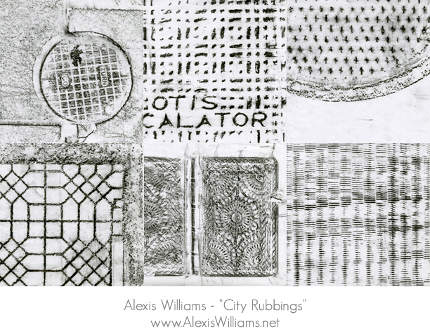 Alexis Williams City Rubbings