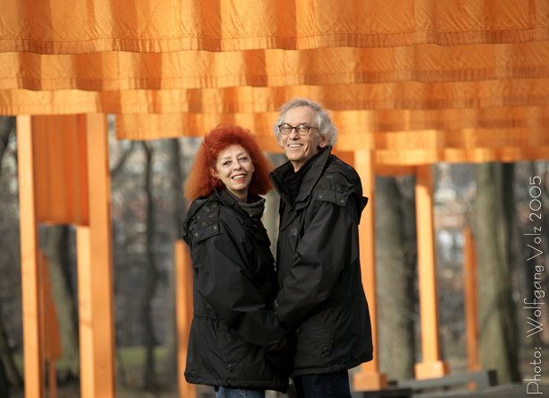 Christo and jeanneclaude 2005