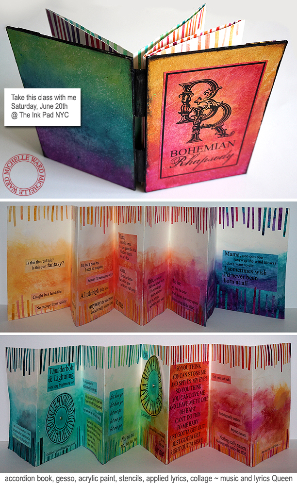 Michelle Ward Bohemian Rhapsody Song Book