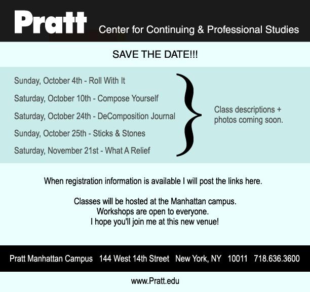 MW Pratt workshop dates