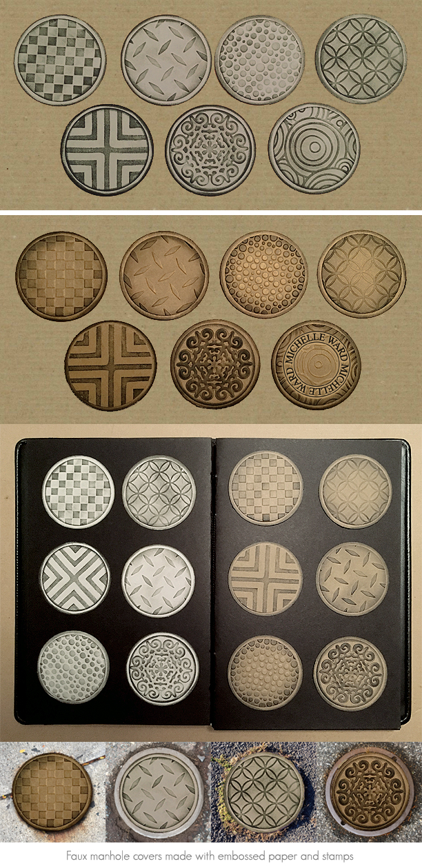 MW embossed covers
