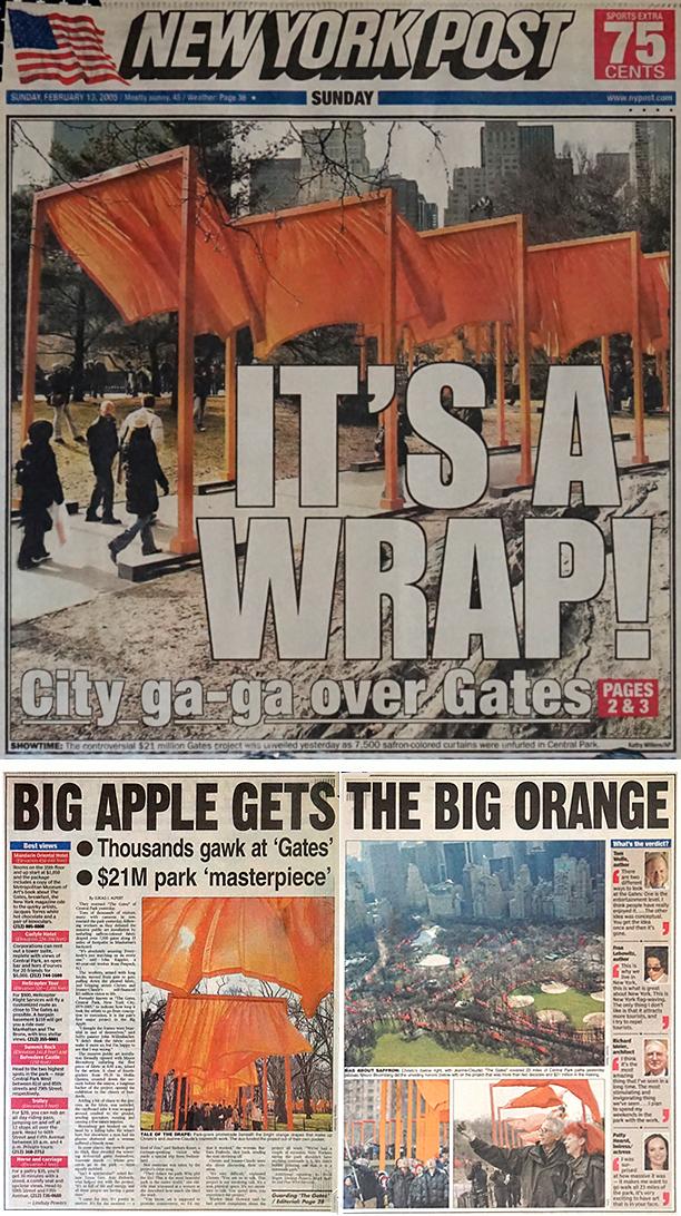 MW The Gates 10th Anniversary NYP 2005