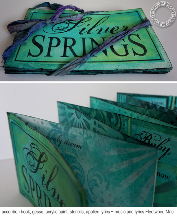 Michelle Ward Silver Springs Song Book