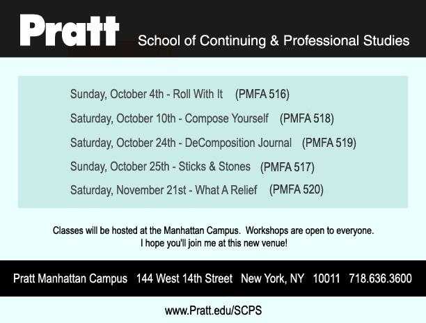 Michelle Ward Pratt SCPS 2015 workshops