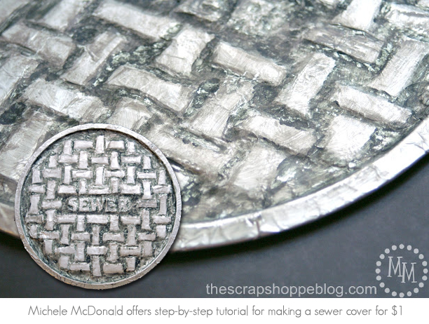 Michele McDonald DIY sewer cover