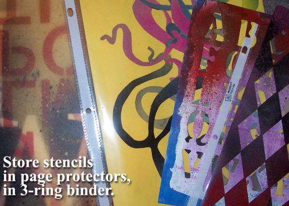 Stencilstorage