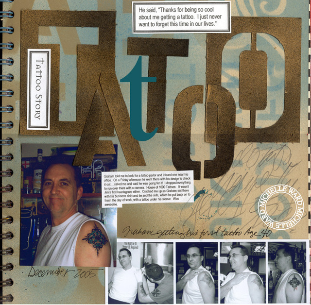 Tattoo Journal - Graham's 1st - PLEASE DO NOT PIN!