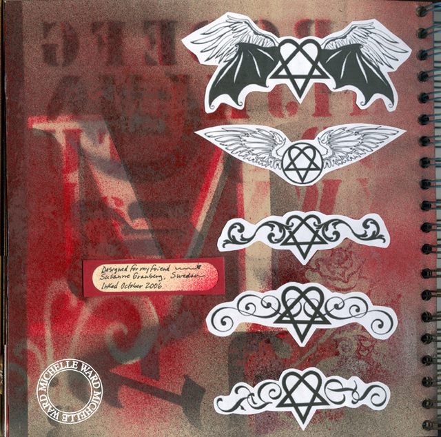 Tattoo Journal - Digital Designs - PLEASE DO NOT PIN!