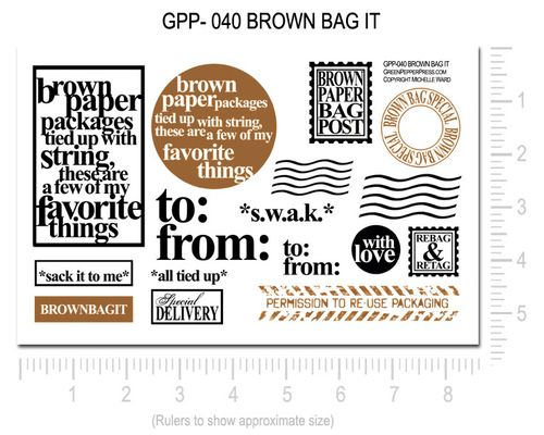 GPP-040 BROWN BAG IT