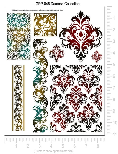 GPP-046 Damask Collection