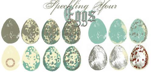 Speckling Eggs