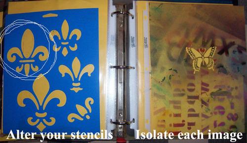 Altered stencils