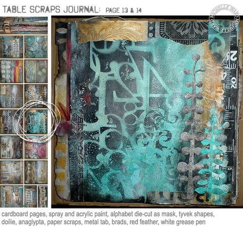 From my Table Scraps Journal