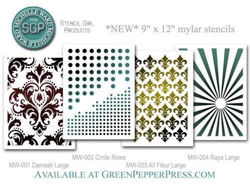 *new stencils* august 2011